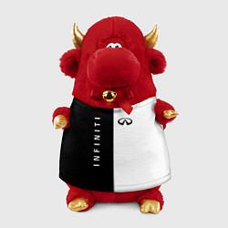 Игрушка-бычок Infiniti: Black & White цвета 3D-красный — фото 1