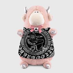 Игрушка-бычок Настоящий барбер цвета 3D-светло-розовый — фото 1