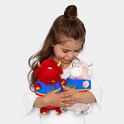 Игрушка-бычок Чита: Россия цвета 3D-светло-розовый — фото 2