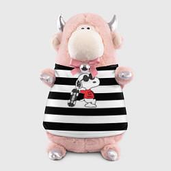 Игрушка-бычок Vans Doggy цвета 3D-светло-розовый — фото 1