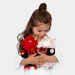 Игрушка-бычок AC Milan цвета 3D-красный — фото 2