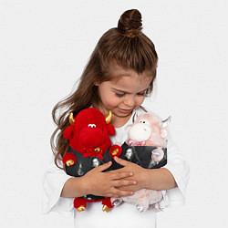 Игрушка-бычок Detsl цвета 3D-красный — фото 2