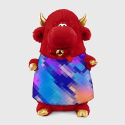 Игрушка-бычок Пикси цвета 3D-красный — фото 1