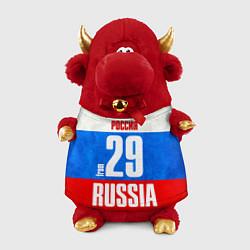 Игрушка-бычок Russia: from 29 цвета 3D-красный — фото 1