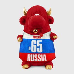 Игрушка-бычок Russia: from 65 цвета 3D-красный — фото 1