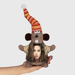Игрушка-мышка Анжелина Джоли цвета 3D-серый — фото 1