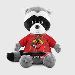 Игрушка-енот Chicago Blackhawks цвета 3D-серый — фото 1