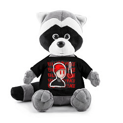 Игрушка-енот TOP: Blurryface цвета 3D-серый — фото 1