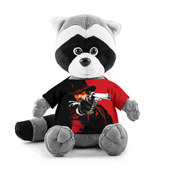 Игрушка-енот Red Dead Redemption цвета 3D-серый — фото 1