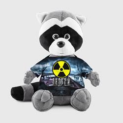 Игрушка-енот S.T.A.L.K.E.R: Андрей цвета 3D-серый — фото 1