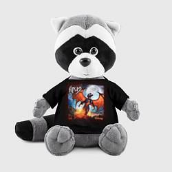 Игрушка-енот Ария цвета 3D-серый — фото 1