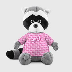 Игрушка-енот Bitch Barbie цвета 3D-серый — фото 1