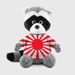 Игрушка-енот Япония цвета 3D-серый — фото 1