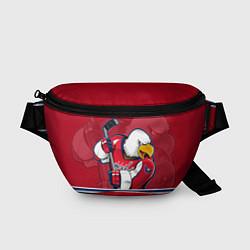 Поясная сумка Washington Capitals цвета 3D-принт — фото 1