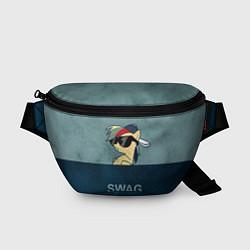 Поясная сумка My SWAG Pony цвета 3D-принт — фото 1