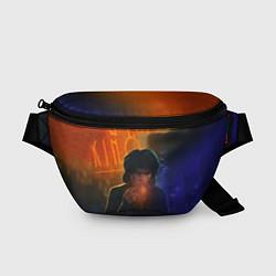 Поясная сумка Виктор Цой в ночи цвета 3D — фото 1