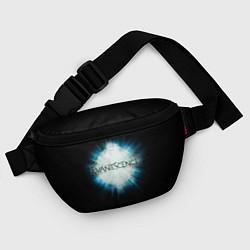 Поясная сумка Evanescence Explode цвета 3D-принт — фото 2