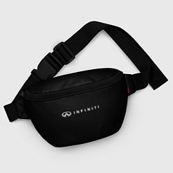 Поясная сумка Infiniti цвета 3D-принт — фото 2