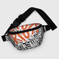 Поясная сумка Paramore: Riot цвета 3D-принт — фото 2