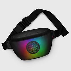Поясная сумка Coldplay Colour цвета 3D-принт — фото 2