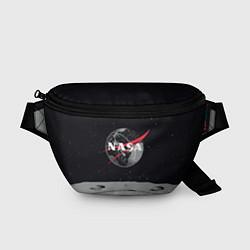 Поясная сумка NASA: Moon цвета 3D-принт — фото 1