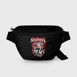 Поясная сумка Stigmata Skull цвета 3D — фото 1