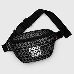 Поясная сумка Paul Van Dyk цвета 3D-принт — фото 2
