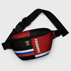 Поясная сумка Primorye, Russia цвета 3D-принт — фото 2