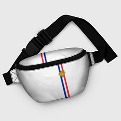 Поясная сумка Франция: лента с гербом цвета 3D-принт — фото 2