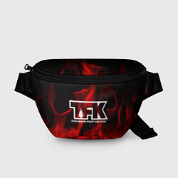 Поясная сумка Thousand Foot Krutch: Red Flame цвета 3D — фото 1