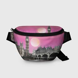 Поясная сумка Закат в Великобритании цвета 3D — фото 1