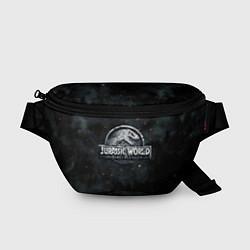 Поясная сумка Jurassic World: Smoke & Ash цвета 3D-принт — фото 1
