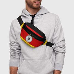 Поясная сумка Немецкий футбол цвета 3D-принт — фото 2