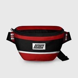 Поясная сумка IKON Stripes цвета 3D-принт — фото 1