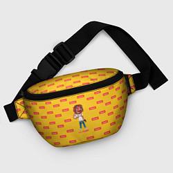 Поясная сумка Lil Pump: Esketit цвета 3D — фото 2