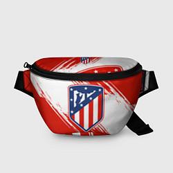 Поясная сумка ФК Атлетико Мадрид цвета 3D-принт — фото 1