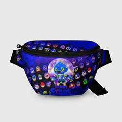 Поясная сумка BRAWL STARS LEON WOLF цвета 3D-принт — фото 1