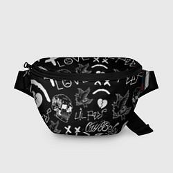 Поясная сумка Lil Peep цвета 3D — фото 1