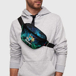 Поясная сумка Minecraft Майнкрафт цвета 3D — фото 2