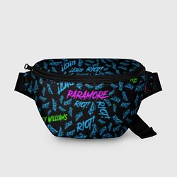 Поясная сумка Paramore RIOT! цвета 3D — фото 1