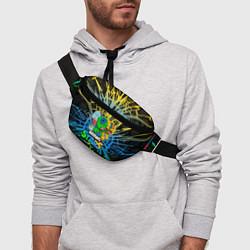 Поясная сумка BRAWL STARS LEON SKINS цвета 3D — фото 2