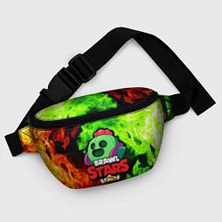 Поясная сумка BRAWL STARS SPIKE цвета 3D — фото 2