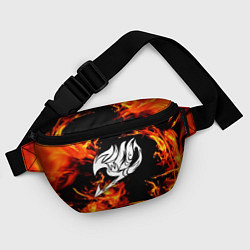 Поясная сумка FAIRY TAIL ХВОСТ ФЕИ цвета 3D-принт — фото 2