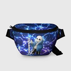 Поясная сумка UNDERTALE АНДЕРТЕЙЛ цвета 3D — фото 1
