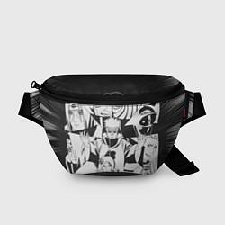 Поясная сумка Акацуки цвета 3D-принт — фото 1