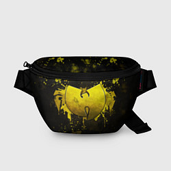 Поясная сумка Wu-Tang Clan: Yellow цвета 3D-принт — фото 1