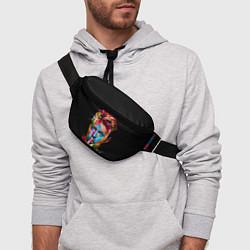 Поясная сумка Дэвид Боуи цвета 3D — фото 2