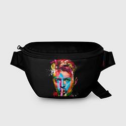 Поясная сумка Дэвид Боуи цвета 3D-принт — фото 1