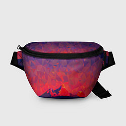Поясная сумка Абстракция цвета 3D — фото 1