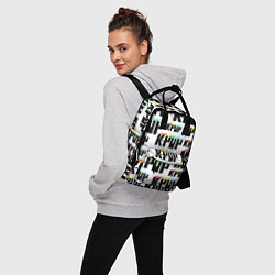 Рюкзак женский K-pop Pattern цвета 3D-принт — фото 2